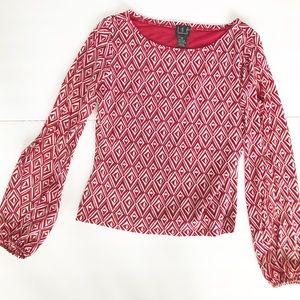 I.N.C. International Concepts cold shoulder top